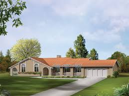spanish style ranch homes la jolla spanish ranch home plan d house plans and more cove beach