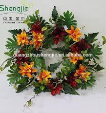 Artificial Christmas Decorations Wholesale by Wholesale Artificial Christmas Decor Door Hanging Wreath Buy