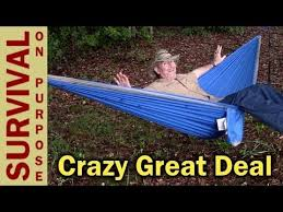 eno hammock best black friday deals mersuii double hammock great budget camping hammock youtube