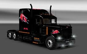 black u0026 red bull logo peterbilt paint colors no matter 379exhd