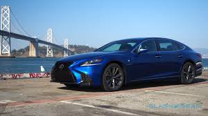 lexus ls 2018 lexus ls 500 drive the luxury of identity slashgear