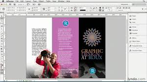 in design indesign tutorial converting a clipping path to a frame lynda