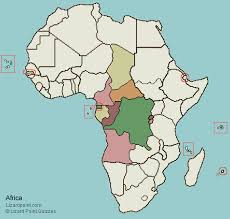 africa map test test your geography knowledge central africa countries lizard