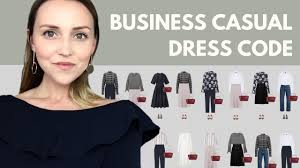 the business casual dress code capsule wardrobe example youtube