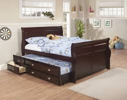 bedding cool full trundle bed frame metal twin roll out queen