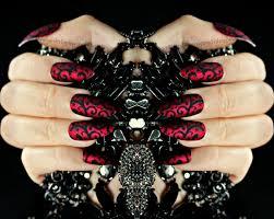red matte swirl stiletto nails matte stiletto press on nail