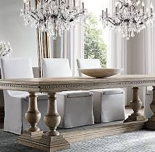 Restoration Hardware Dining Room St Rectangular Extension Dining Table