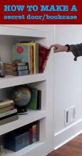 Building A Bookshelf Door Best 25 Hidden Door Bookcase Ideas On Pinterest Bookcase Door