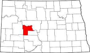 mercer map mercer county dakota
