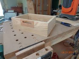 How To Make A Sewing Table by First Project A Sewing Box 3 Handles Woodworkingweb