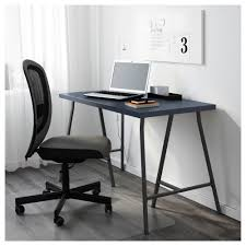 blue writing desk lerberg linnmon table geometric blue grey 120x60 cm ikea