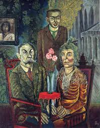 the painter three on the 1925 by otto dix expressionism