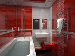 bathroom design wonderful black white red bathroom decor grey
