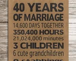 40 year anniversary gift 25 melhores ideias de 40 year anniversary gift no