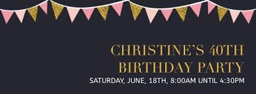 cover photo template facebook banner birthday party facebook cover photo template template fotojet