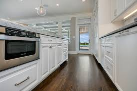 by the seaside white kitchen seaside heights new jersey by design kitchen island with microwave drawer