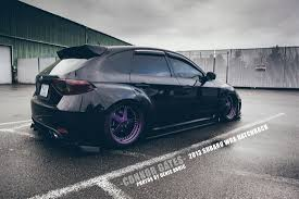 subaru wrx hatch white connor gates wrx slammedenuff