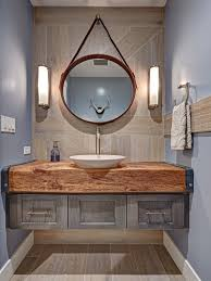 Best  Farmhouse Powder Room Ideas Houzz - Powder room bathroom