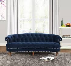 Velvet Chesterfield Sofa by Amazon Com Jennifer Taylor Home La Rosa Collection Chesterfield