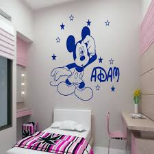 28 personalised wall stickers for kids butterflies name personalised wall stickers for kids aliexpress com buy customer made mickey mouse
