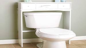 new bathroom wood over the toilet table cabinet space saver organizer