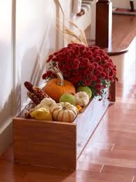 Fall Decorating Projects - autumn decoration and centerpiece ideas