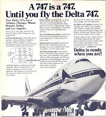 Delta 747 Seat Map Airline Timetables Delta Air Lines March 1971