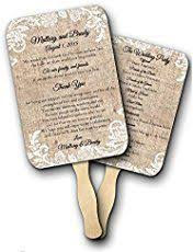 diy fan wedding programs kits jar wedding program fans by social stationery wedding fan