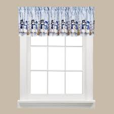 Snowman Valances Saturday Knight Winter Friends 13 In L Polyester Valance In