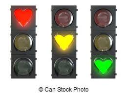 set of traffic lights with yellow and green lights drawing