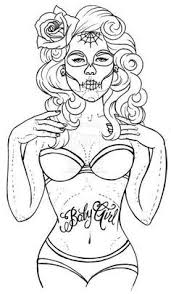 Pin Up Girl Coloring Pages Bing Images My Posh Picks Pin Up Coloring Pages