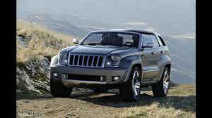 jeep trailhawk blue jeep trailhawk concept