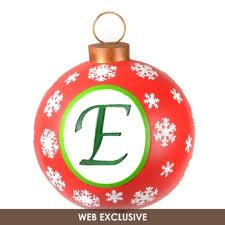 monogram christmas outdoor monogram christmas ornaments at kirklands