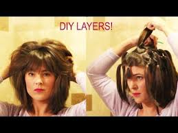 farrah fawcett hair cut instructions how to cut your own layers diy 90 degree haircut method for long