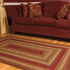 amazon com cinnamon oval braided rug 20