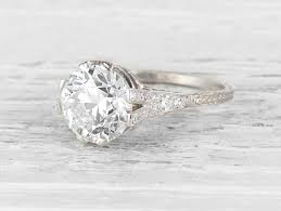 diamondless engagement rings vintage engagement rings erstwhile jewelry nyc