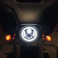 halo light installation near me 7 led black halomaker headlight harley daymaker replacement