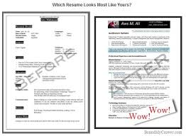 Branding Statement For Resume Wow Resume Brandyourself Blog Orm And Personal Branding