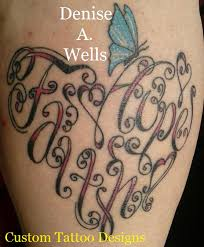faith and hope made into a heart shaped tattoo by denise a u2026 flickr