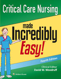 critical care nursing made incredibly easy williams u0026 wilki