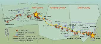 Atlanta Beltline Map Beltline U0026 Path Team Eddie Ride Across America