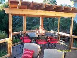 The Great Outdoors Patio Furniture Pergola Over Corner Octagon Deck Pergolas Pinterest Pergolas