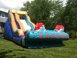 inflatable water slide rentals slides for any event plainfield