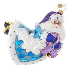 christopher radko charity ornaments breast cancer aids alzheimer s