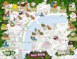 london christmas lights walking tour london christmas map mapping london
