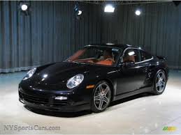 porsche carrera 2007 2007 porsche 911 turbo coupe in basalt black metallic 783937