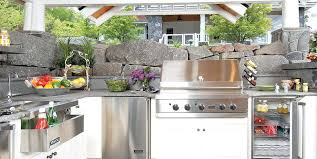 best outdoor kitchen appliances appliances for outdoor kitchen outdoor kitchens appliances