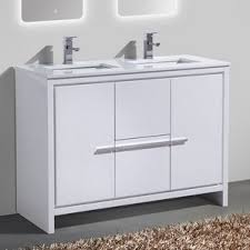 Modern Bathroom Sinks And Vanities Modern U0026 Contemporary Bathroom Vanities You U0027ll Love Wayfair