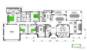 The Metz Floor Plan Vermilion 305 4 Bed Acreage Home Design Stroud Homes