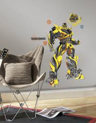 transformers age extinction bumblebee peel and stick giant